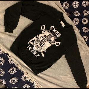 Crooks & Castles Black Sweater Size Small